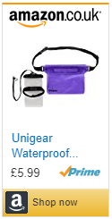 Unigear Waterproof Kayaking Boating Pouch